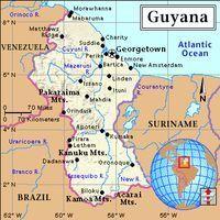 WHERE IS GUYANA ANYWAY Mission Guyana - Where is guyana